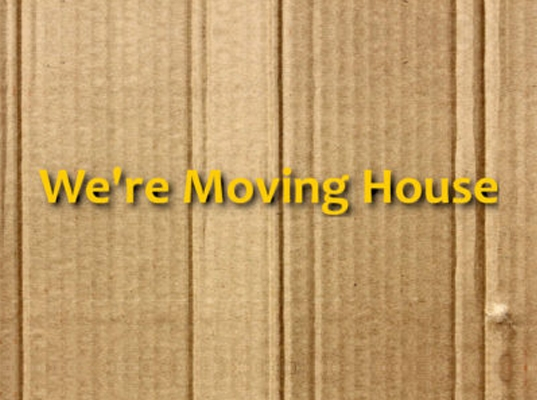 We're Moving House