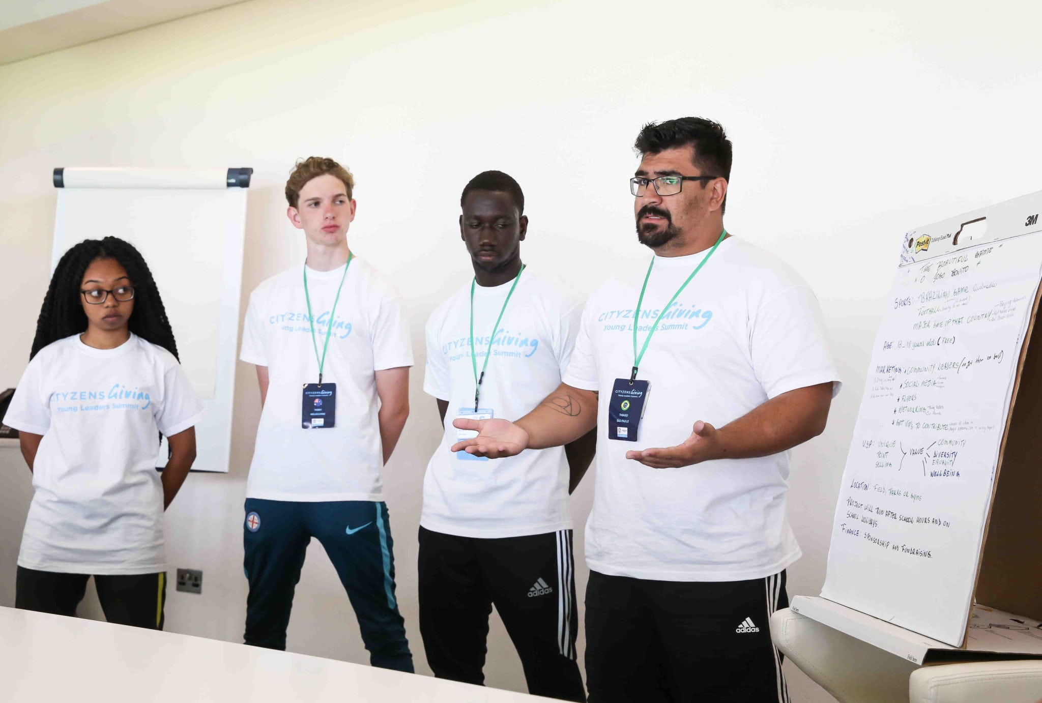 Day 3 - Group Presentations at Manchester City