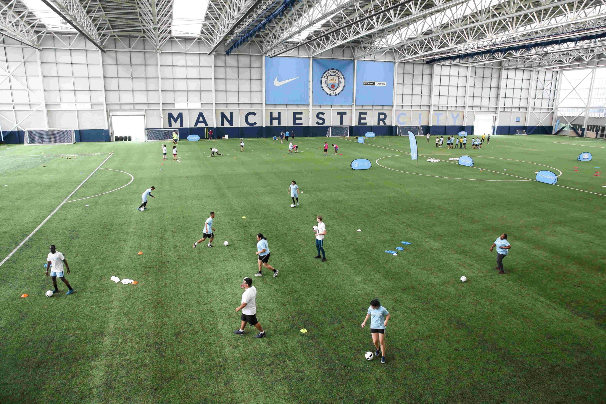 Day 1 Training Session at Manchester City