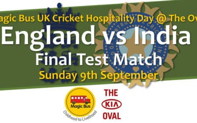 Magic Bus UK Cricket Hospitality Day @ The Oval – England vs India Test