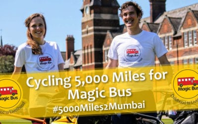 Cycling 5000 Miles for Magic Bus